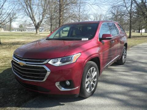 2020 Chevrolet Traverse for sale at Clark Chevrolet Sales Inc in Cayuga IN