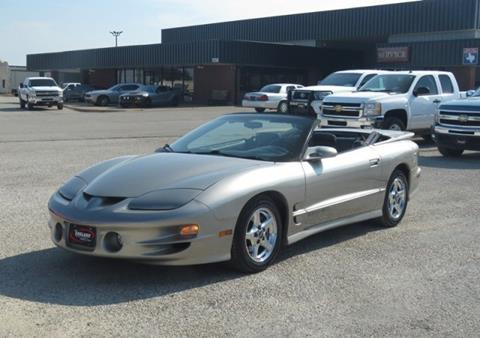 2002 Pontiac Firebird for sale in Cleburne, TX