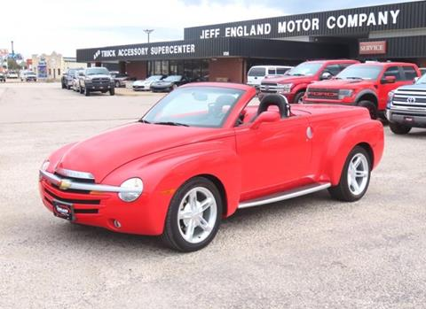 2003 Chevrolet SSR for sale in Cleburne, TX