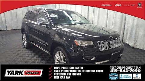 2014 Jeep Grand Cherokee for sale in Toledo, OH