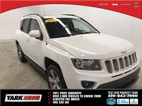 2017 Jeep Compass for sale in Toledo, OH