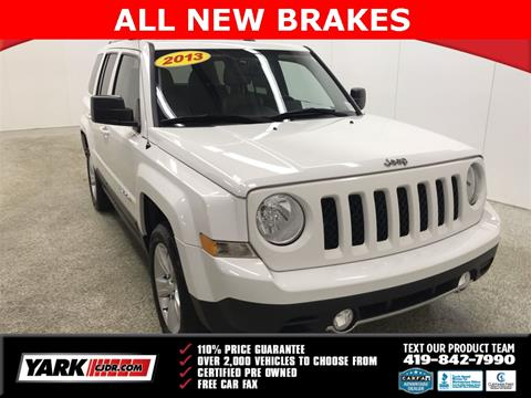 2013 Jeep Patriot for sale in Toledo, OH