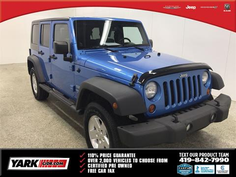 2010 Jeep Wrangler Unlimited for sale in Toledo, OH
