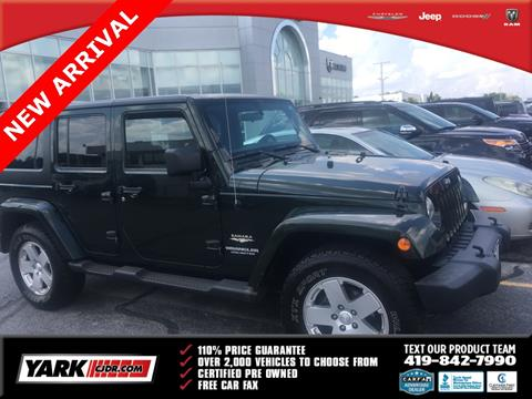 2011 Jeep Wrangler Unlimited for sale in Toledo, OH