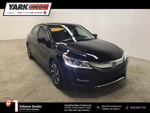 2016 Honda Accord for sale in Toledo, OH