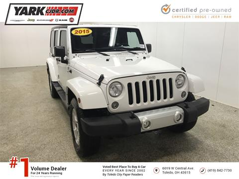 2015 Jeep Wrangler Unlimited for sale in Toledo, OH