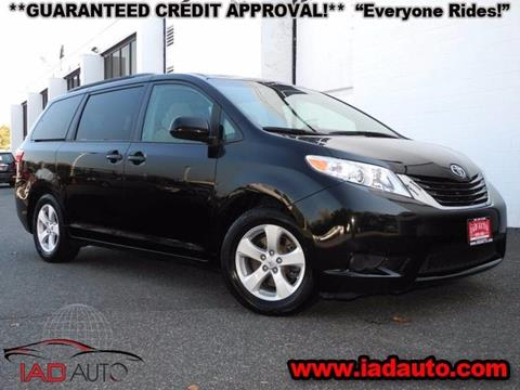 used toyota sienna for sale in maryland. Black Bedroom Furniture Sets. Home Design Ideas