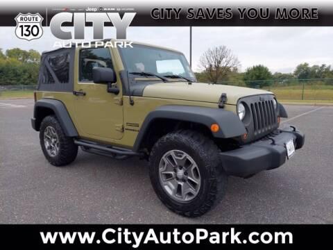 2013 Jeep Wrangler for sale at City Auto Park in Burlington NJ