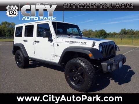 2017 Jeep Wrangler Unlimited for sale at City Auto Park in Burlington NJ