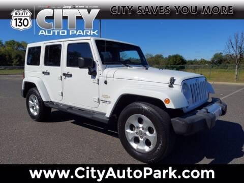 2013 Jeep Wrangler Unlimited for sale at City Auto Park in Burlington NJ