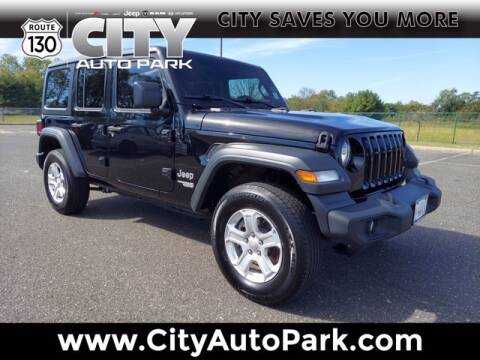 2018 Jeep Wrangler Unlimited for sale at City Auto Park in Burlington NJ