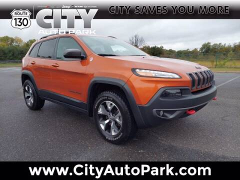 2015 Jeep Cherokee for sale at City Auto Park in Burlington NJ