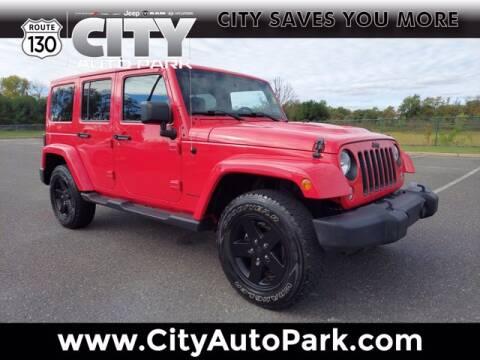 2015 Jeep Wrangler Unlimited for sale at City Auto Park in Burlington NJ