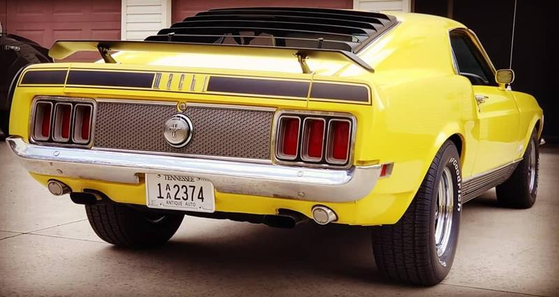 1970 Ford Mustang 15