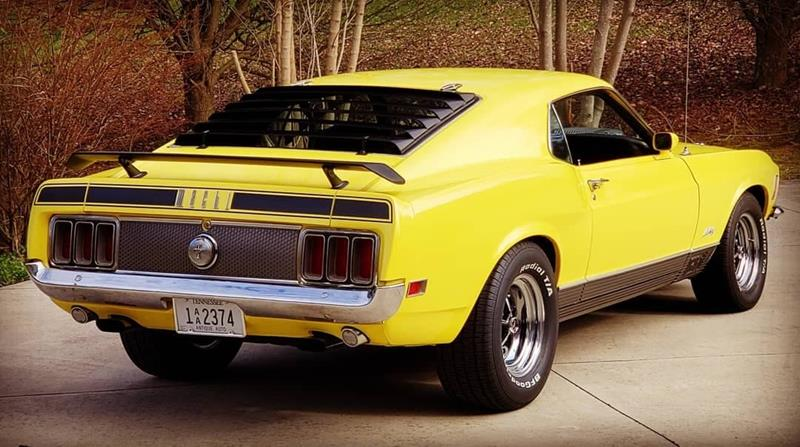 1970 Ford Mustang 11