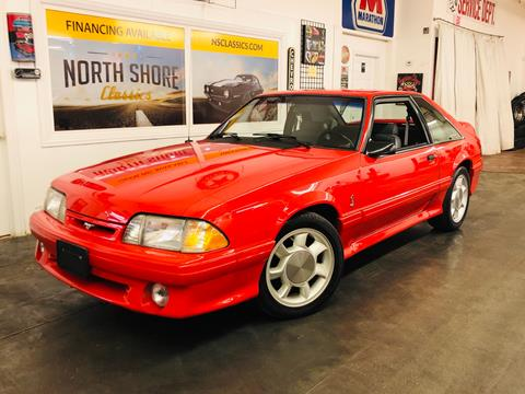 1993 Ford Mustang SVT Cobra for sale in Mundelein, IL