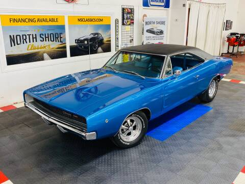 1968 Dodge Charger for sale at North Shore Classics in Mundelein IL