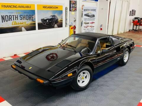 Authentic Ferrari Dealer Sales Brochure 1982 308GTBi 308GTSi and Mondial 8