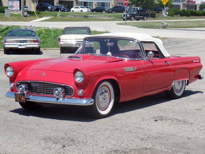 1955 Ford Thunderbird NICE CONDITION T BIRD WITH WORKING AC PRICED ...