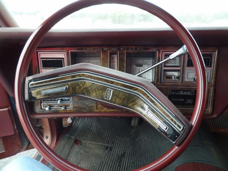 1979 Lincoln Continental 22