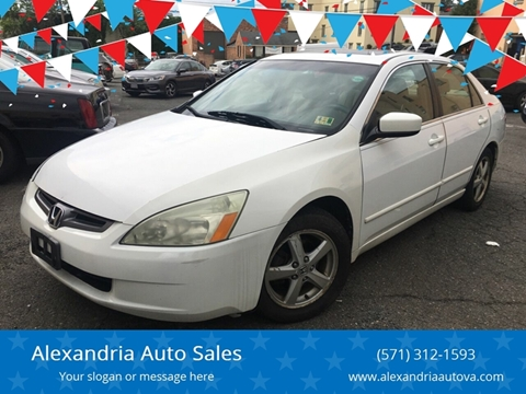 2004 Honda Accord for sale in Alexandria, VA