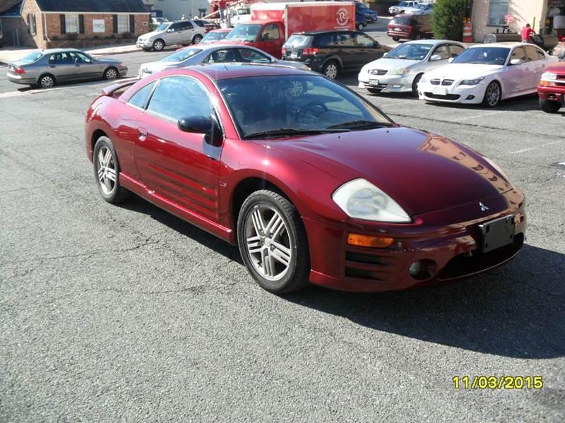 2003 Mitsubishi Eclipse for sale at Alexandria Auto Sales in Alexandria VA