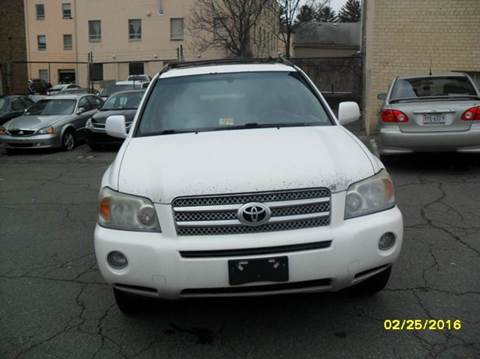 2006 Toyota Highlander Hybrid for sale at Alexandria Auto Sales in Alexandria VA