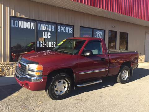 2004 GMC Sierra 1500 for sale at London Motor Sports, LLC in London KY
