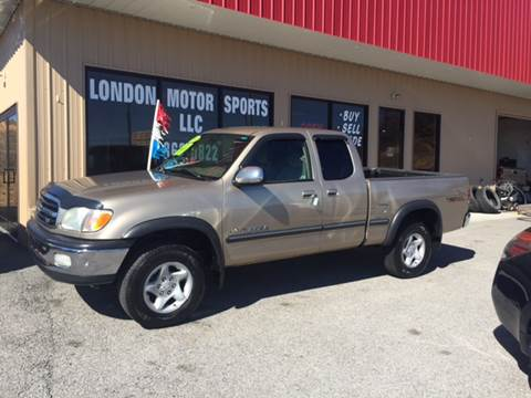 2002 Toyota Tundra for sale at London Motor Sports, LLC in London KY