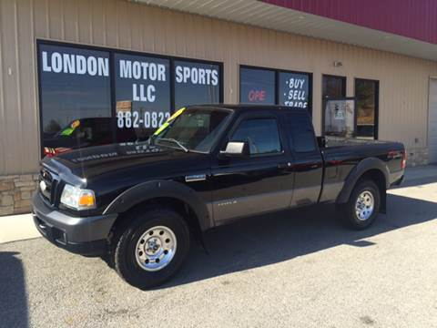 2007 Ford Ranger for sale at London Motor Sports, LLC in London KY