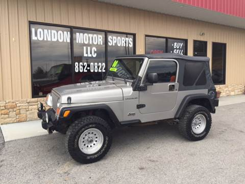 2000 Jeep Wrangler for sale at London Motor Sports, LLC in London KY