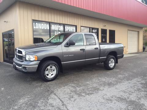 2005 Dodge Ram Pickup 1500 for sale at London Motor Sports, LLC in London KY
