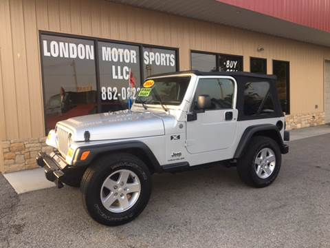 2004 Jeep Wrangler for sale at London Motor Sports, LLC in London KY