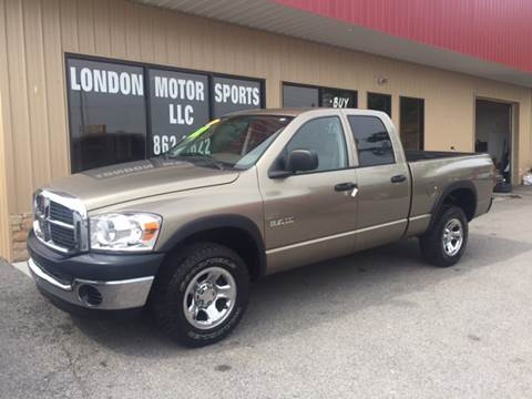 2008 Dodge Ram Pickup 1500 for sale at London Motor Sports, LLC in London KY