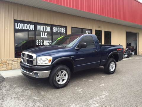 2007 Dodge Ram Pickup 1500 for sale at London Motor Sports, LLC in London KY