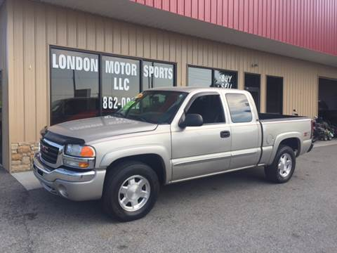 2006 GMC Sierra 1500 for sale at London Motor Sports, LLC in London KY
