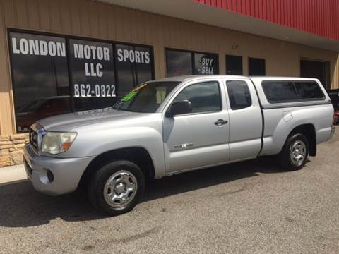 2005 Toyota Tacoma for sale at London Motor Sports, LLC in London KY