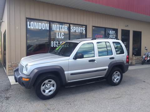 2004 Jeep Liberty for sale at London Motor Sports, LLC in London KY