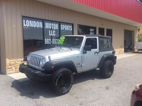 2007 Jeep Wrangler for sale at London Motor Sports, LLC in London KY