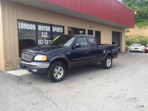 2002 Ford F-150 for sale at London Motor Sports, LLC in London KY
