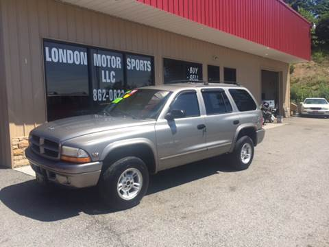 2000 Dodge Durango for sale at London Motor Sports, LLC in London KY