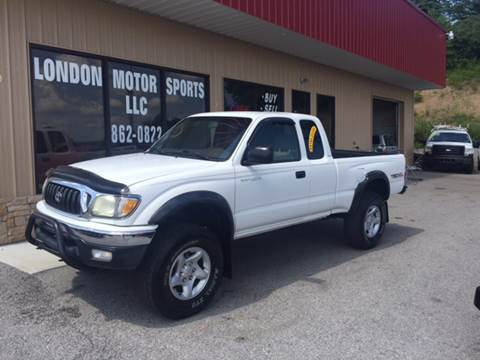 2004 Toyota Tacoma for sale at London Motor Sports, LLC in London KY