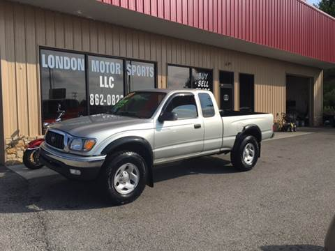 2003 Toyota Tacoma for sale at London Motor Sports, LLC in London KY