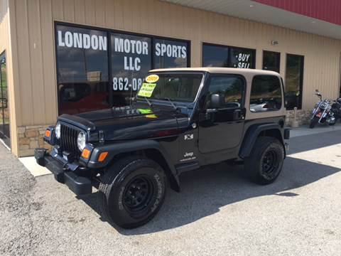2005 Jeep Wrangler for sale at London Motor Sports, LLC in London KY