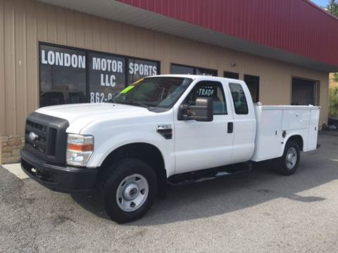 2008 Ford F-250 Super Duty for sale at London Motor Sports, LLC in London KY
