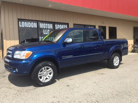 2006 Toyota Tundra for sale at London Motor Sports, LLC in London KY