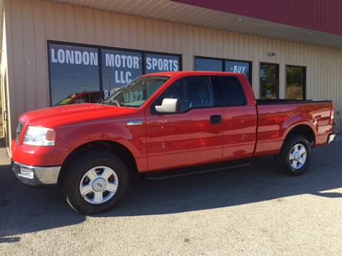 2004 Ford F-150 for sale at London Motor Sports, LLC in London KY
