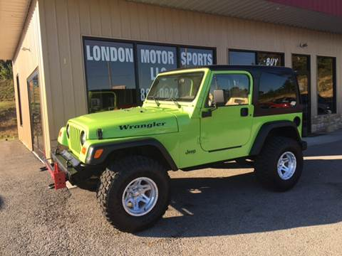 1997 Jeep Wrangler for sale at London Motor Sports, LLC in London KY