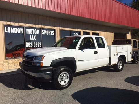 2006 Chevrolet Silverado 2500HD for sale at London Motor Sports, LLC in London KY