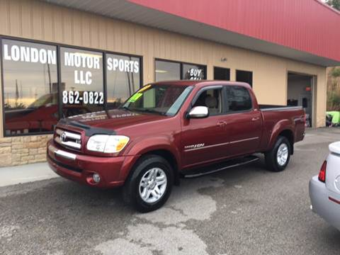 2005 Toyota Tundra for sale at London Motor Sports, LLC in London KY